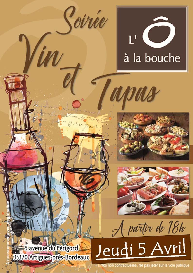 Nouveauté : Soirée Vins & Tapas !