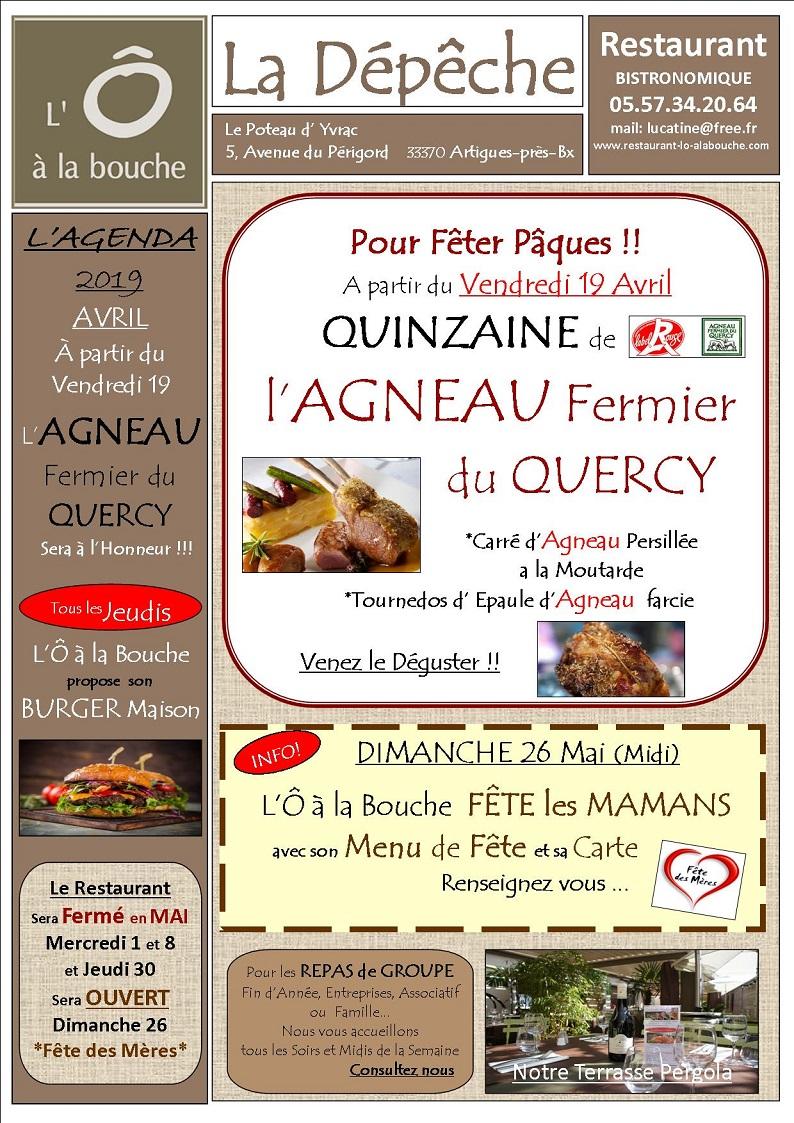 La Quinzaine de l'Agneau Fermier du Quercy